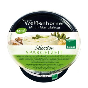 Frischecreme Selection Spargelzeit