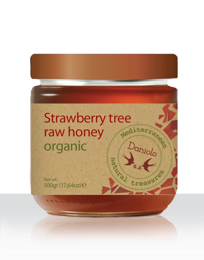 DANIOLO Strawberry tree raw honey