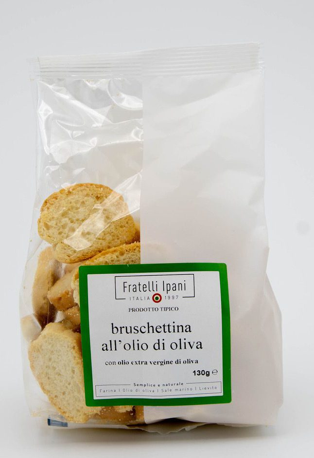 bruschettina all'olio di oliva