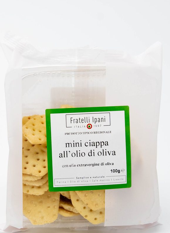 mini ciappa all'olio di oliva