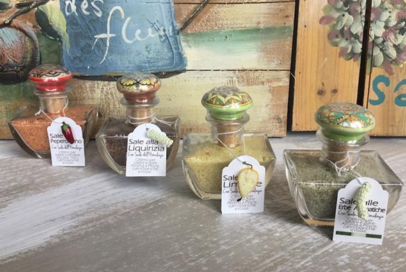 Sisiliaans zout met aromastische kruiden